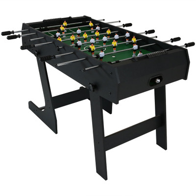 Sunnydaze 48 Inch Folding Foosball Game Table Game Tables