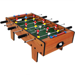 Sunnydaze 28 Inch Tabletop Foosball Table Game With Legs