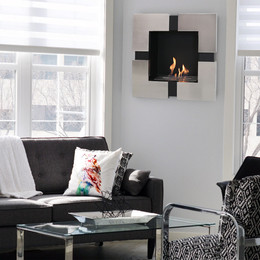 Ventless Fireplaces – Indoor Wall-Mounted and Tabletop