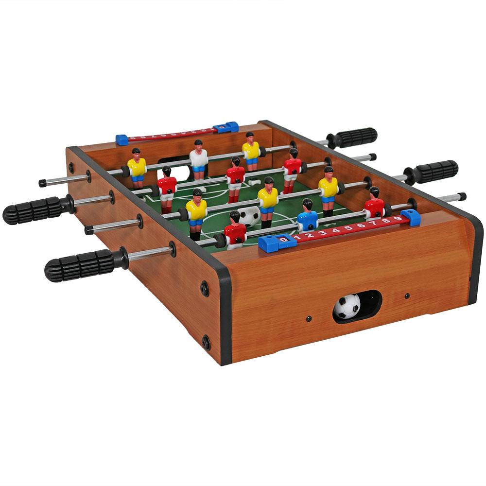 Sunnydaze 20 Inch Tabletop Foosball Table Game