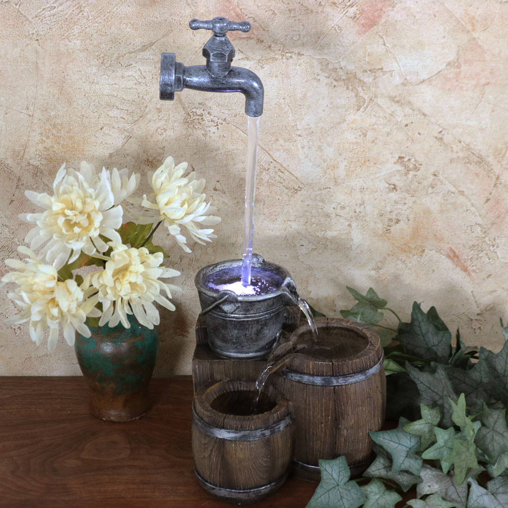 Indoor Water Fountains – Table, Floor & Wall Fountains