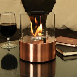 Sunnydaze Tre Poli Tabletop Bio Ethanol Fireplace