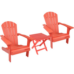 Salmon Set of 2 with Side Table