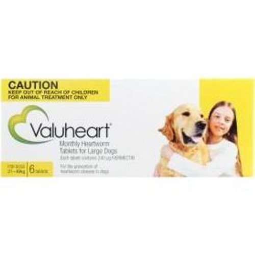 Valuheart for Large Dogs - Gold 6 Pack