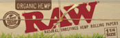 RAW Organic Papers 1-1/4
