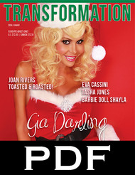 Transformation 92 featuring Gia Darling (PDF/digital)