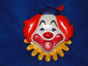 Clown Dial-A-Year Cake Topper Wilton