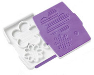 Button Flower Fondant Cut and Press Set Wilton