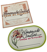 CANDY BOX LABELS GUMMED 8 CT