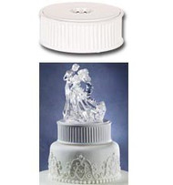 Lighted Revolving Figurine/Topper Base Wilton