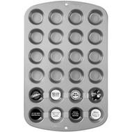 24 Cup Mini Muffin Pan Nonstick Wilton
