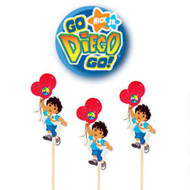 PICKS FUN PICKS DIEGO 24 CT WILTON