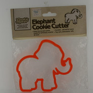 elephant plastic cookie cutter