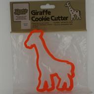 Giraffe plastic cookie cutter