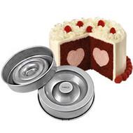 Tasty Fill Heart Cake Pan Wilton
