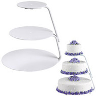 Cake Stand Floating Tier Wilton