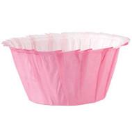 Pink Ruffled Cupcake Baking Cups 24ct Wilton