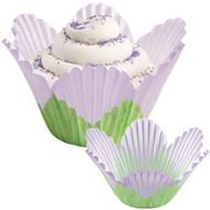 Lavender Petal Cupcake Baking Cups 24ct Wilton
