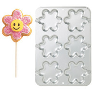 Blossom Treat Cookie Pan 6 Cavity Wilton
