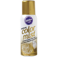 Gold Color Mist Food Color Spray