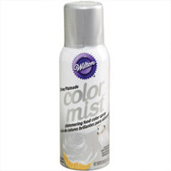 Silver Color Mist Food Color Spray