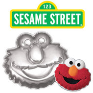 Elmo Face Cake Pan Wilton