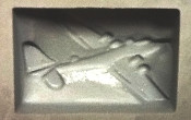 Airplane Rubber Candy Mold