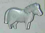 Horse Rubber Candy Mold