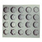 Snowflake Assorted Rubber Candy Mold