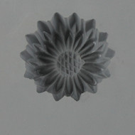 RUBBER CANDY MOLD SUNFLOWER