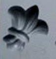 Fleur De Lis Rubber Candy Mold