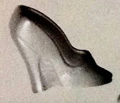 High Heel Rubber Candy Mold