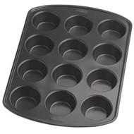 Recipe Right Mini Muffin Pan 12 Cup Non-Stick Wilton