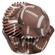 Baking Cups Football 36ct Wilton