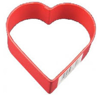 COOKIE CUTTER HEART METAL 3 INCH