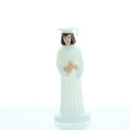 GRADUATE GIRL WHITE ROBE