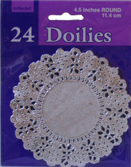 DOILIES SILVER 4.5 IN.