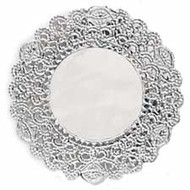 DOILIES SILVER 6 IN