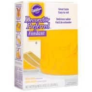 Rolled Fondant Decorator Preferred Yellow Vanilla