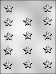 candy mold star X 14