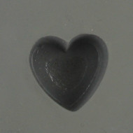 heart card suit rubber mold