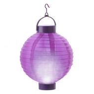 lantern fabric purple