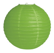 "Paper Lantern 12"" citrus green"