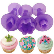 fondant mini flower cut-outs