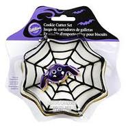 COOKIE CUTTER SET SPIDER WEB