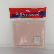 PLACE CARDS PINK VELLUMx50