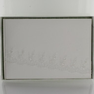GUEST BOOK WHITE FABRIC
