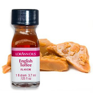 CANDY FLAVOR ENGLISH TOFFEE OIL 1 DR