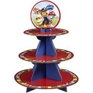 CUPCAKE TREAT STAND PAW PATROL