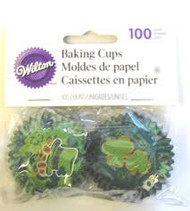BAKING CUPS MINI ST. PATRICK'S 100 CT